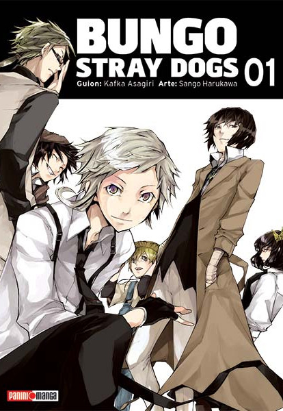 Resultado de imagen para bungou stray dogs manga