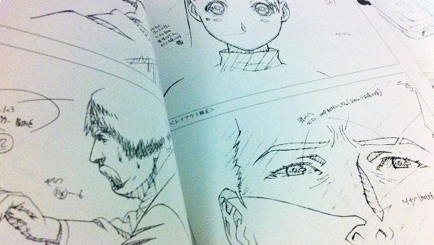 Trazos de anime.