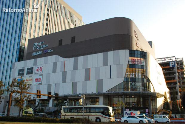 Divercity Mall, Odaiba.