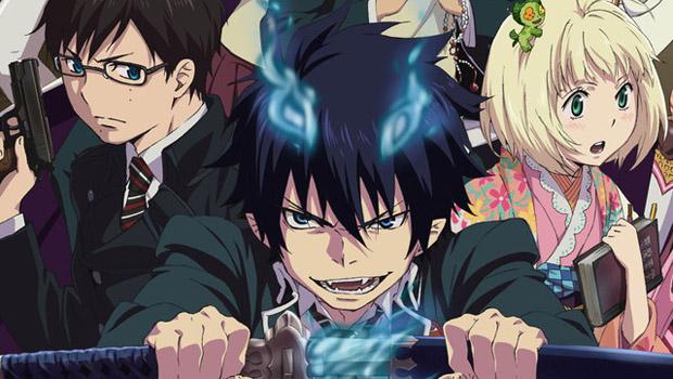 Anime: ¡Ao no Exorcist llega a Netflix Latino América!