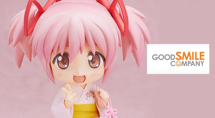 ¡Hermosa! Figura Nendoroid Madoka Kaname versión Yukata.
