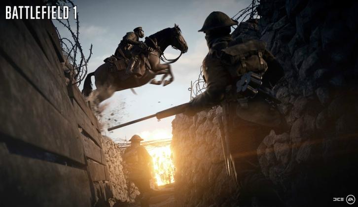 #VG: Llega una nueva actualización a Battlefield 1.
