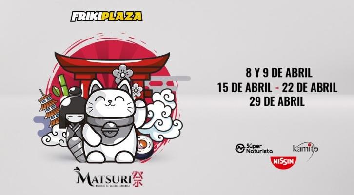 #Eventos: Matsuri – Festival de Cultura Japonesa en la FrikiPlaza