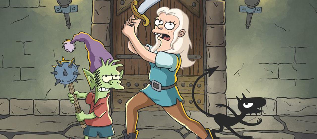 (Des)Encanto lo nuevo de Matt Groening