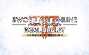 Sword Art Online Fatal Bullet Complete Edition Main