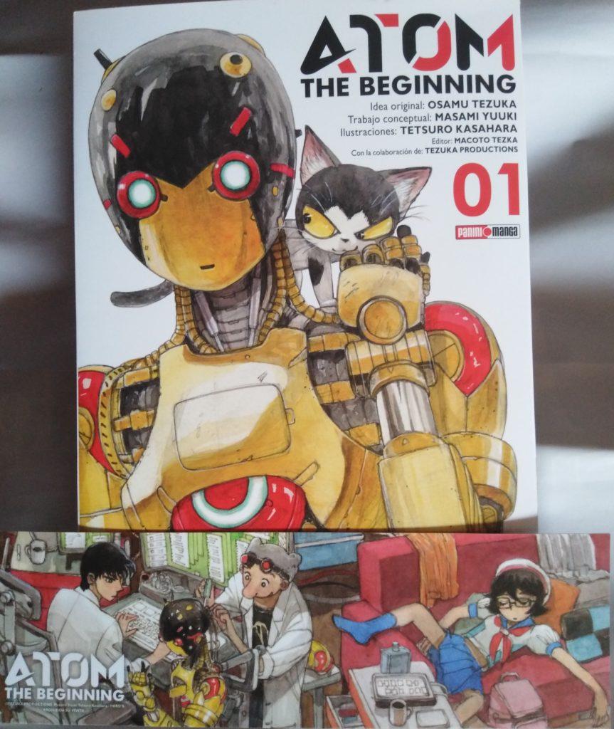 Atom The Beginning #1 Art 1